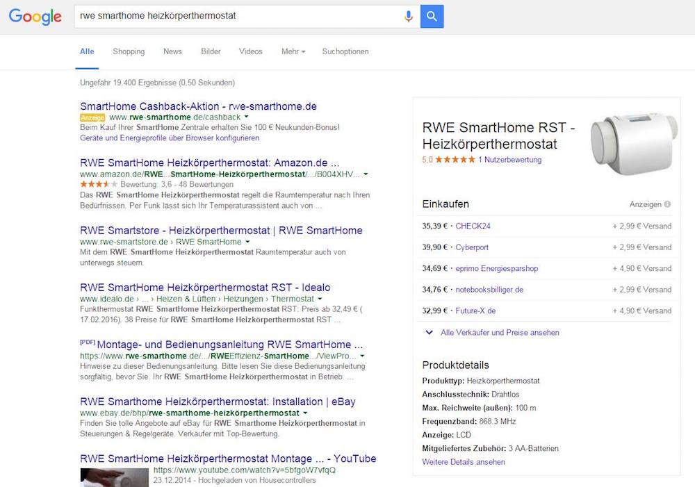 google-preisvergleich-suche
